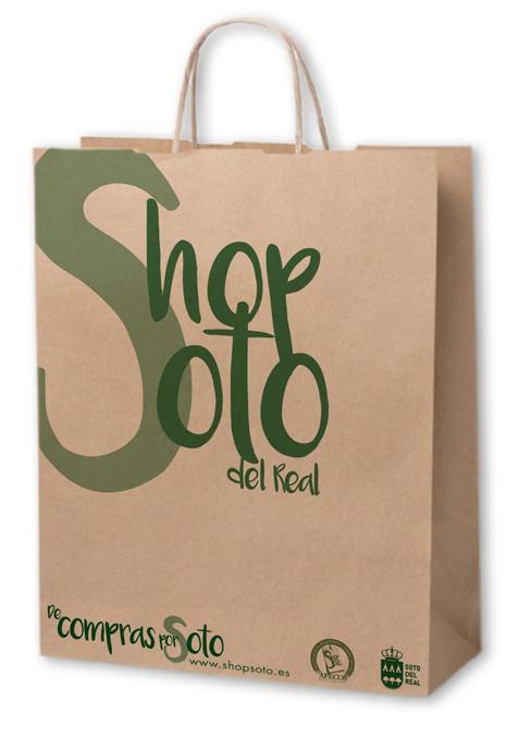 bolsa de papel de Shop Soto del Real